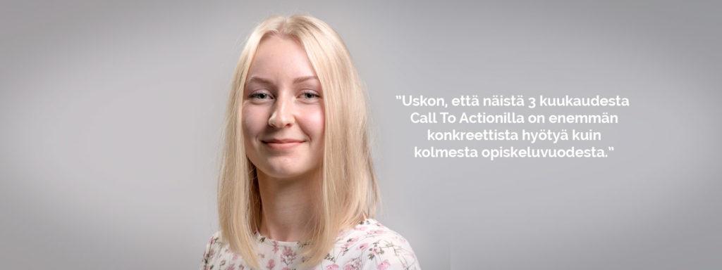 työharjoittelu digitaalinen markkinointi call to action kuopio